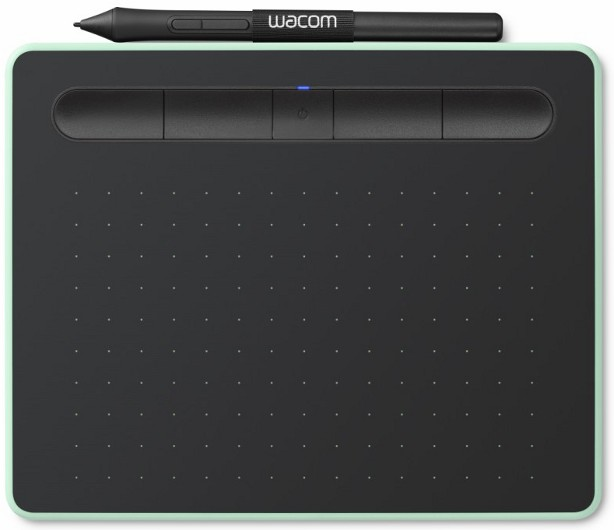 Wacom CTL-4100WLE-N Intuos S Bluetooth Pistachio