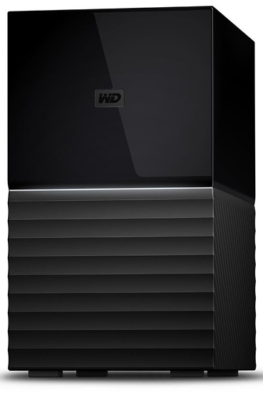 EXT 16TB WD My Book Duo , USB 3.0, 64 MB, 3,5in, Intellipower rpm WDBFBE0160JBK-EESN