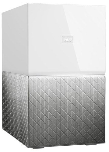 EXT 12TB WD My Cloud Home Duo  (dual disk) USB 3.0, 64 MB, 3,5in, Intellipower rpm WDBMUT0120JWT-EESN
