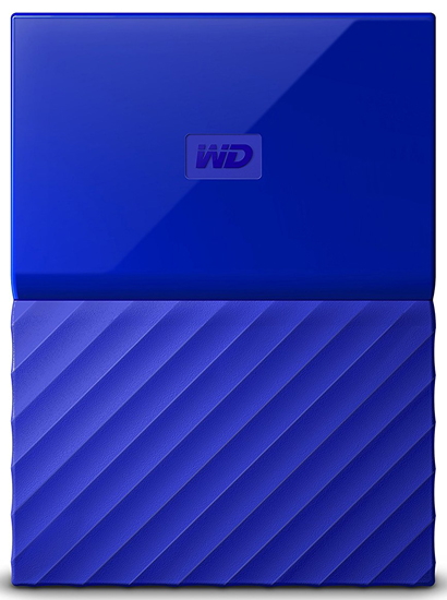 EXT 2TB WD My Passport USB 3.0, 8 MB, 5.400 rpm WDBS4B0020BBL-WESN
