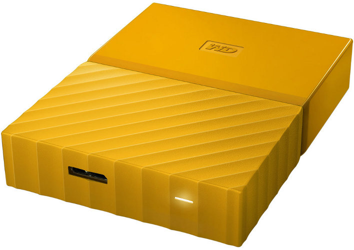 EXT 1TB WD My Passport Yellow WDBYNN0010BYL-WESN, 8 MB, 2,5in, 5.400 rpm