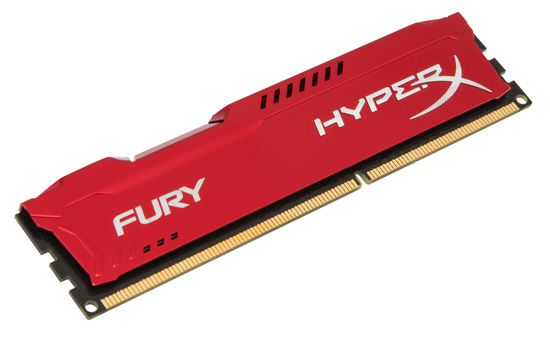 Kingston DDR3 4GB 1866MHz HX318C10FR/4 HyperX Fury Red