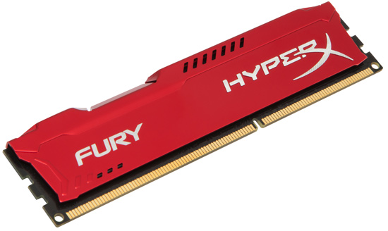 Kingston DDR3 8GB 1866MHz HX318C10FR/8, HyperX Fury Red