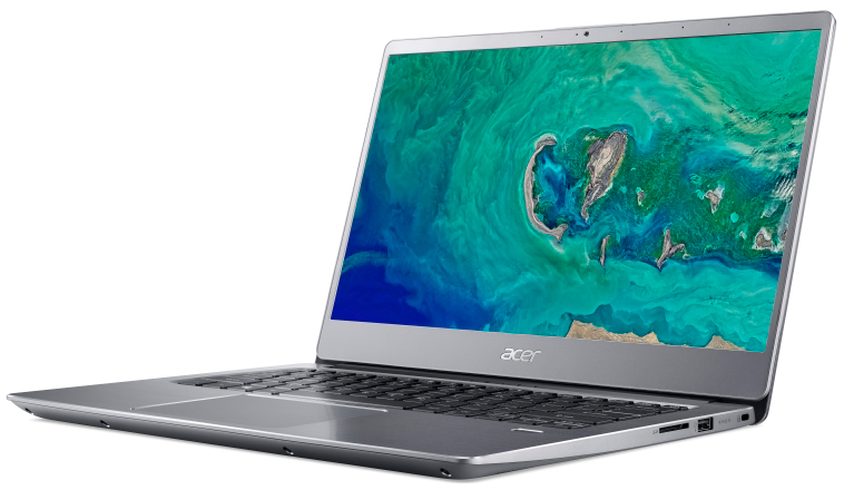 ACER Swift SF314-56-572L 14 FHD Intel Core i5-8265U 1.6GHz (3.90GHz) 8GB 256GB SSD NOT13427