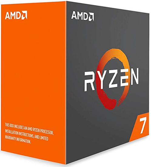 AMD-AM4 Ryzen 7 1700X 8 cores 3.4GHz (3.8GHz) Box