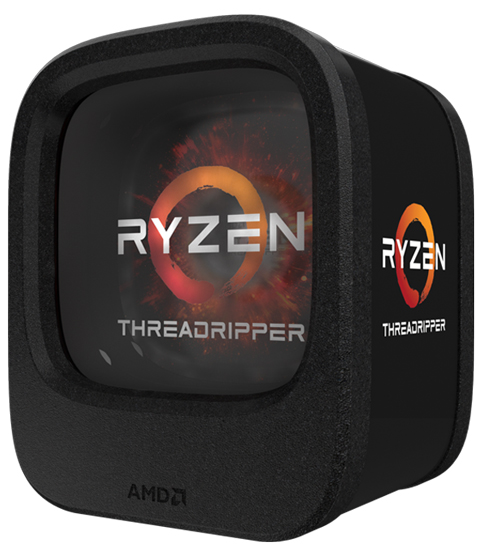 AMD-sTR4 Ryzen Threadripper 1900X 8 cores 3.8GHz (4.0GHz) Box
