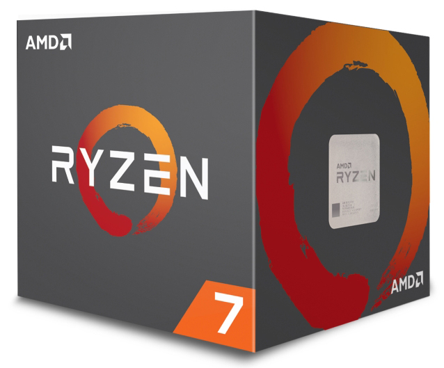 AMD-AM4 Ryzen 7 2700 8 cores 3.2GHz (4.1GHz) Box