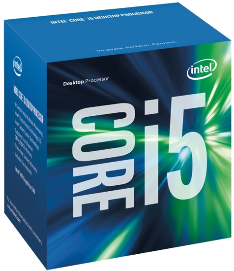 INTEL-1151 Core i5-7600 4 Cores 3.5GHz Box