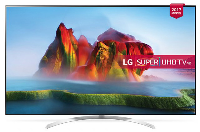 LG 55in 55SJ850V LED  SUPER UHD Smart TV, WebOS 3.5 + AN-MR650, 4K Rezolucija 3840x2160 , Full Cinema Screen, DVB-T2/DVB-C/DVB-S2, WiFi, USB x2(2.0)+1(3.0), HDMI x4