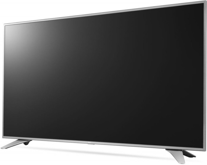 LG 55in 55UH6507 LED TV Ultra HD, WebOS 3.0 SMART, T2, Metal/Silver, Eiffel stand