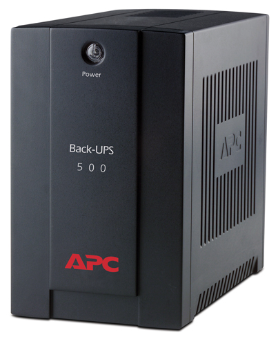 APC BX500CI, Back-UPS CI, 500VA,AVR, IEC outlets, EU Medium