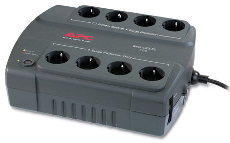 APC BE700G-GR, Back-UPS ES, 700VA 230V German/Dutch